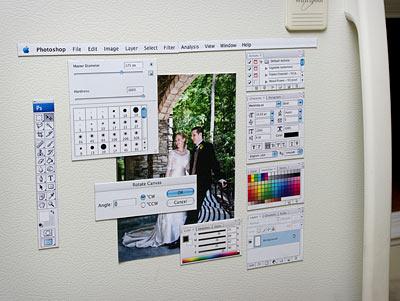 photoshop fridge magnets